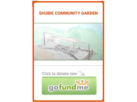shubie garden gofundme button